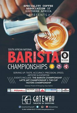 Durban National Barista Competition 2015