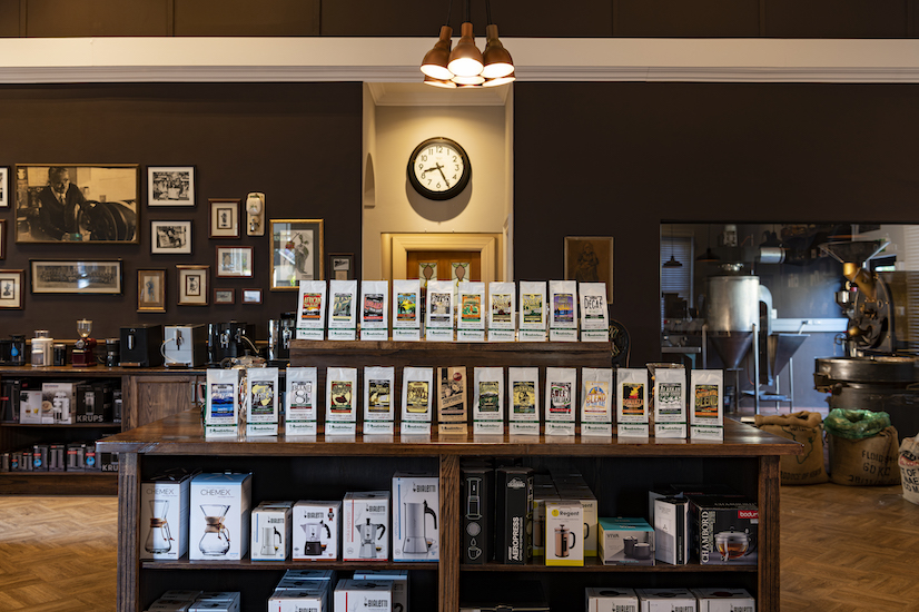 Mastertons Coffee blends