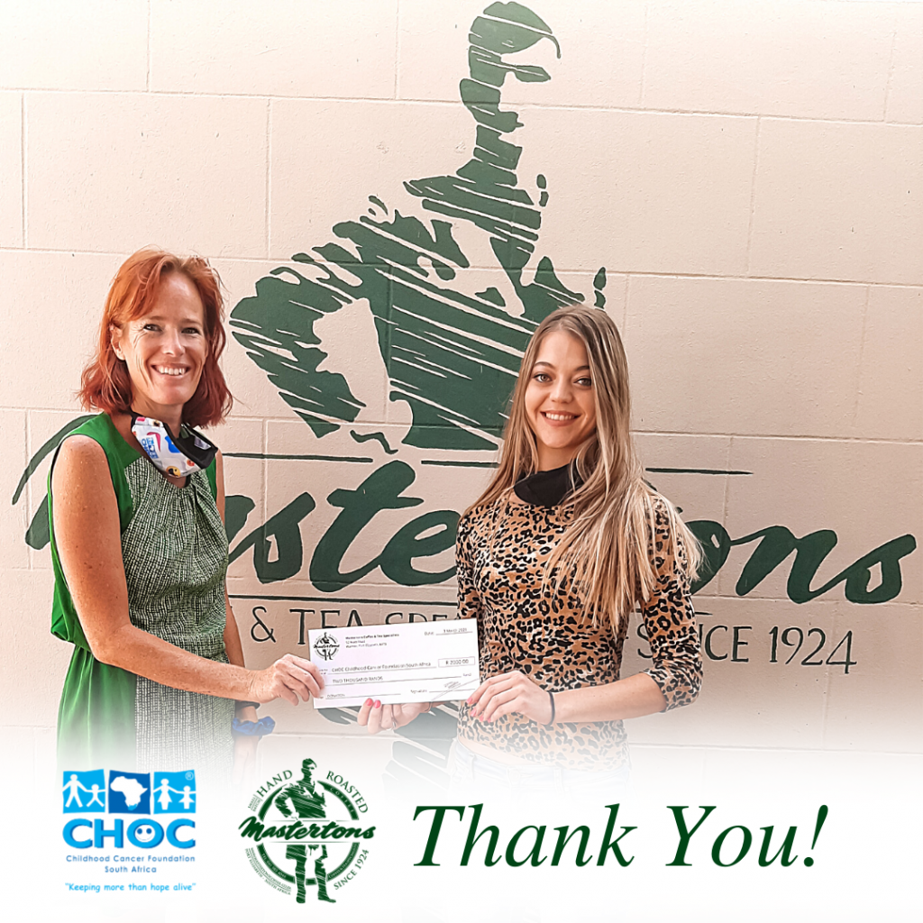 Mastertons Shares the LOVE with the CHOC Foundation